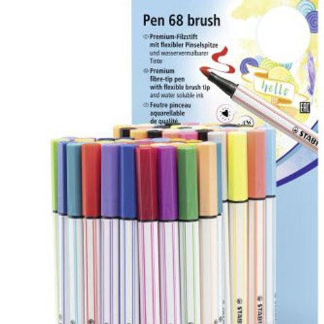 STABILO Brush Pen - Einzelstifte
