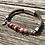 Thumbnail: Armband Leder und altrosa Achat