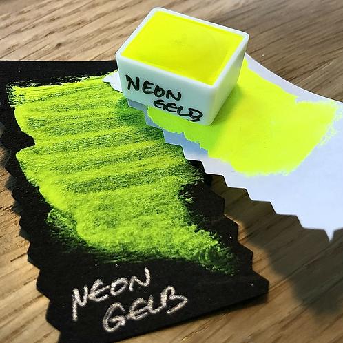 Watercolor – Neon Gelb