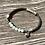 Thumbnail: Armband Leder und Amazonit