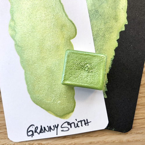 Watercolor – Granny Smith