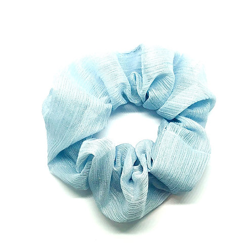 Caro blue Scrunchie