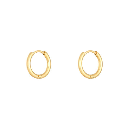LIA BASIC MEDIUM HOOPS