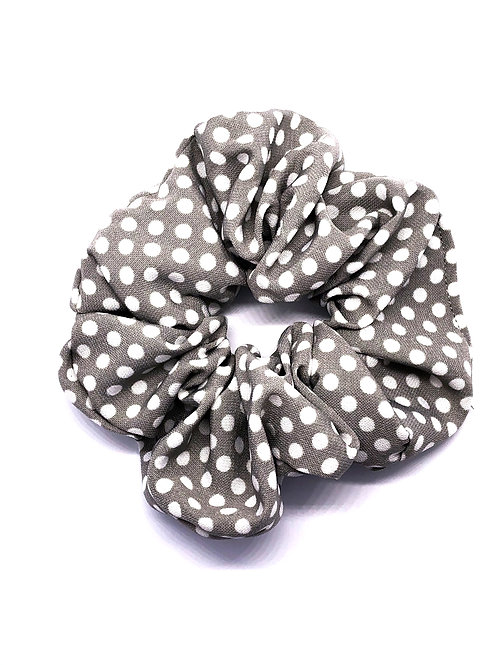 POLINA GREY SCRUNCHIE