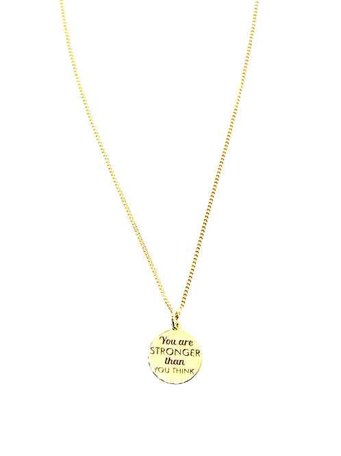 YOU ARE STRONG NECKLACE