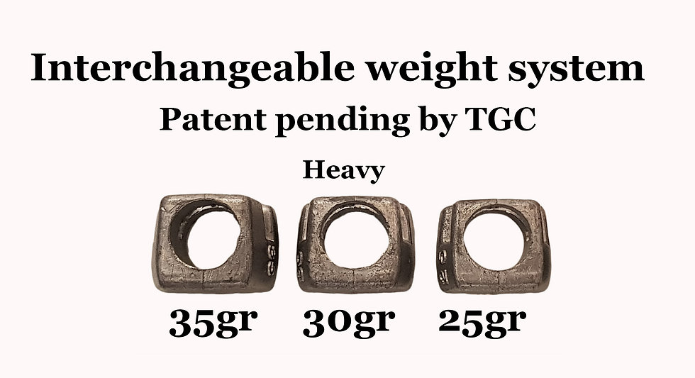Interchangable Weight system- Heavy