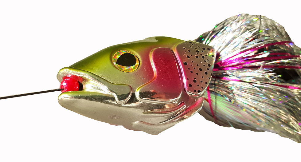 Fly Transformer Rainbow trout Head&fly