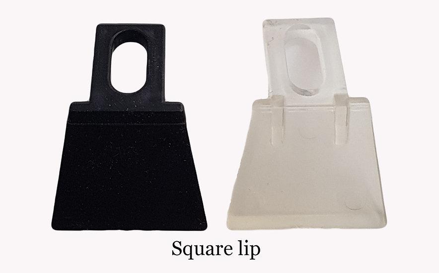 Square lip