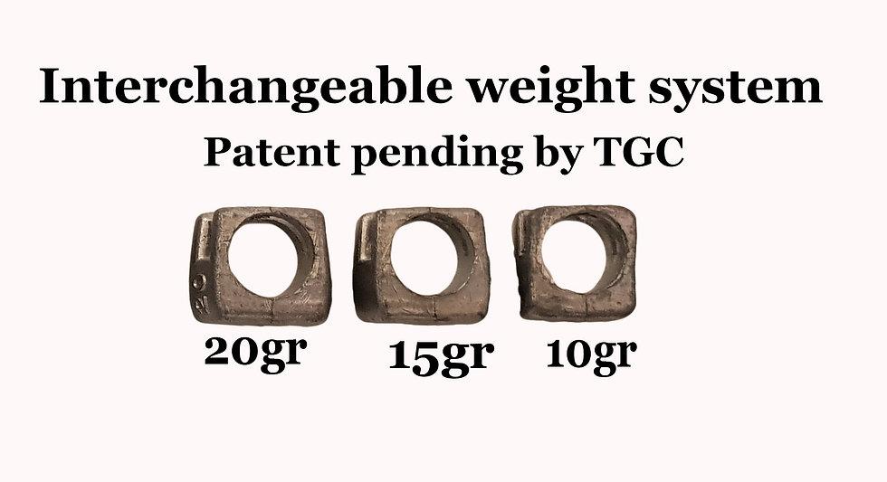 Interchangable Weight system-light