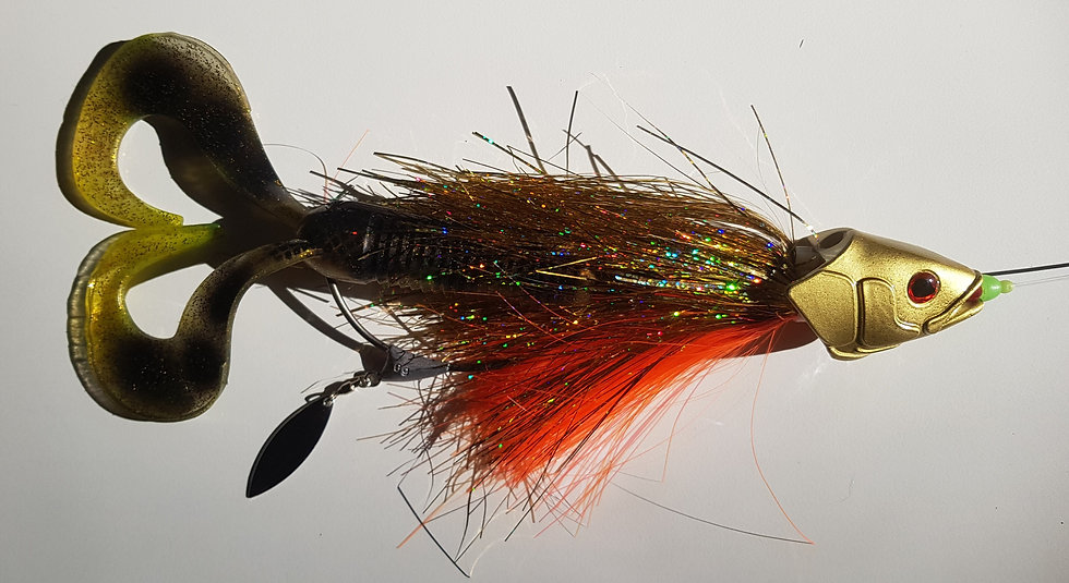 Fly Transformer Swimjigg weedless edition Spotted Bullhead