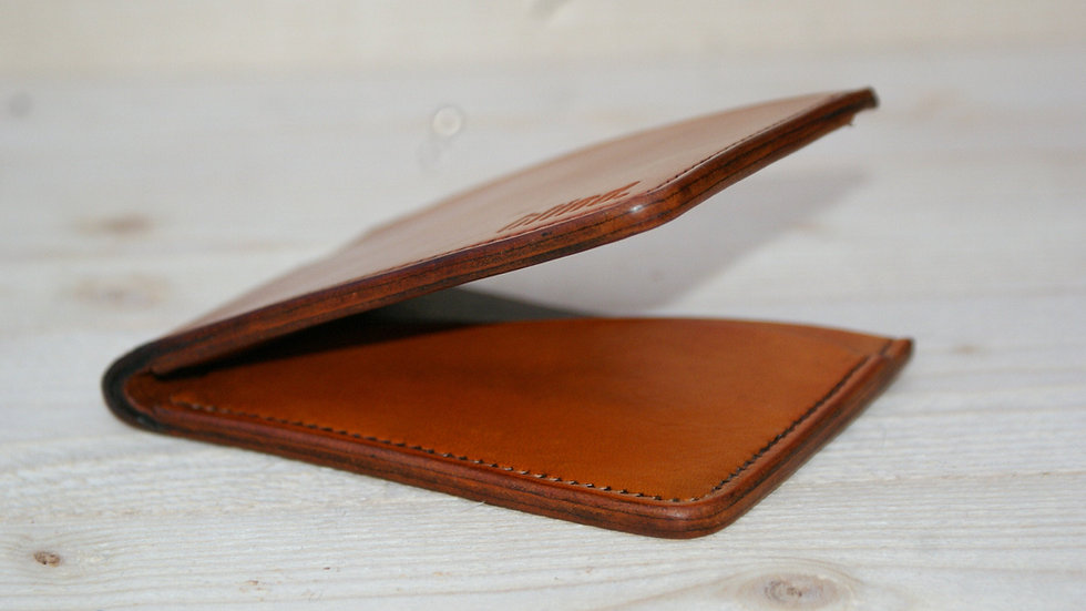 Bifold Leather Wallet - Hand Stitched