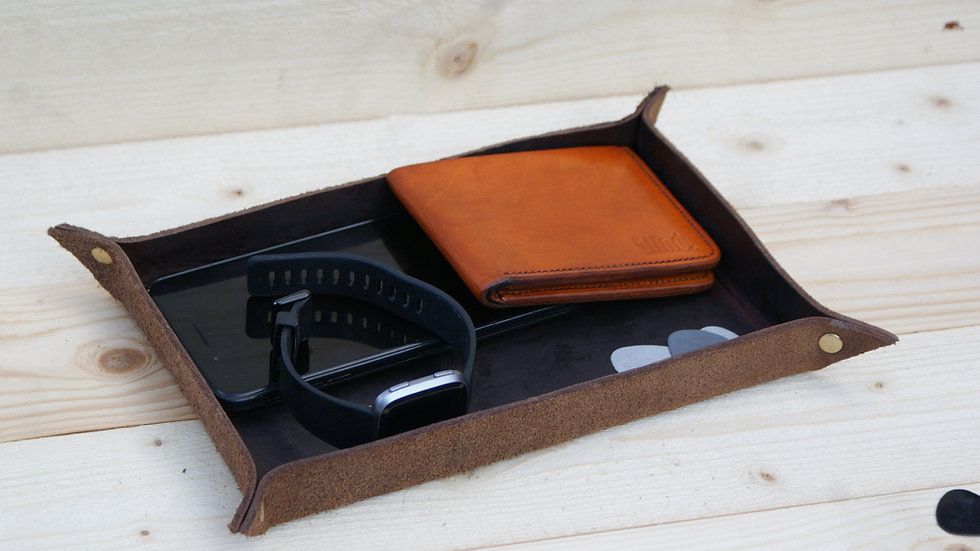 Valet Tray - Leather Chromexcel Horween - Catch All