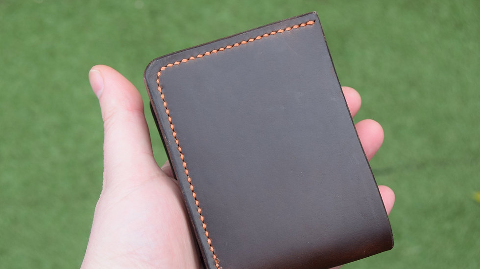 Limited Edition - Leather Wallet - Horween Chromexcel - Bifold