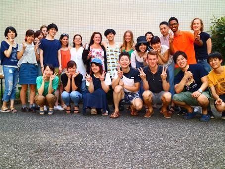 短期留学生と交流会が行われました