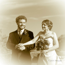 Bride and her brother