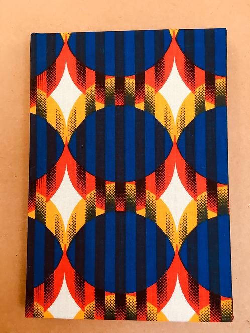 Sun Design A5 African Wax Print sketchbook