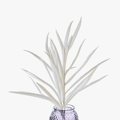 "Flower ""Stripes"" weiß H:90cm"