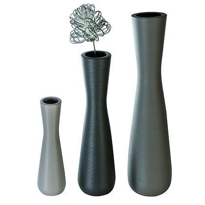 """Vase """"Crest"""" bodenstehend Keramik H:57cm"""