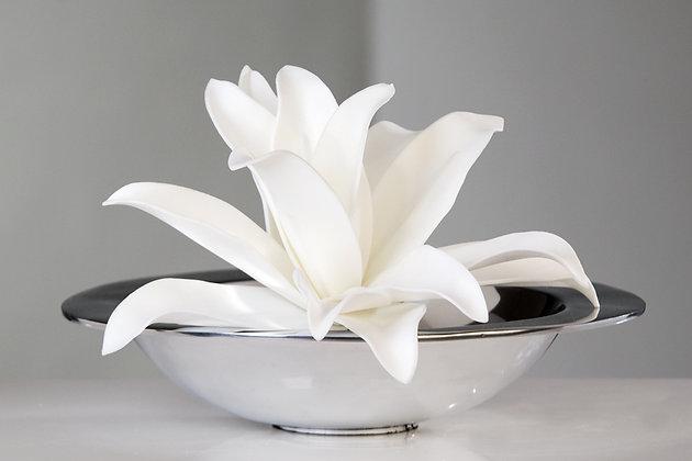 "Flower ""Natural"" weiß Ø20cm"