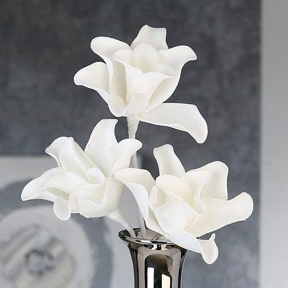 """Flower """"Rumba"""" weiß mit 3 Blüten"""
