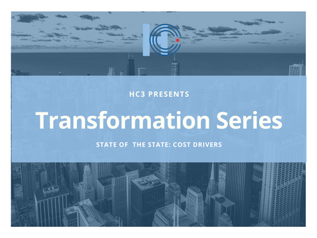 Event Recap | Transformation Series: State of the State | Cost Drivers | 12.08.2020