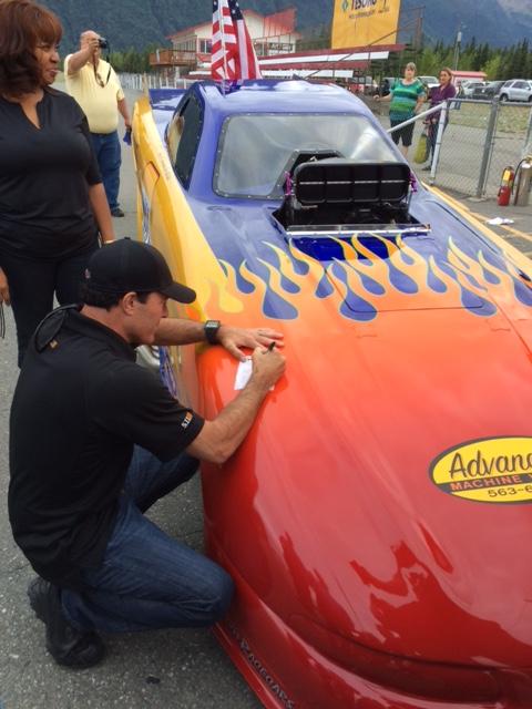 Ron Capps at Alaska Raceway Park
