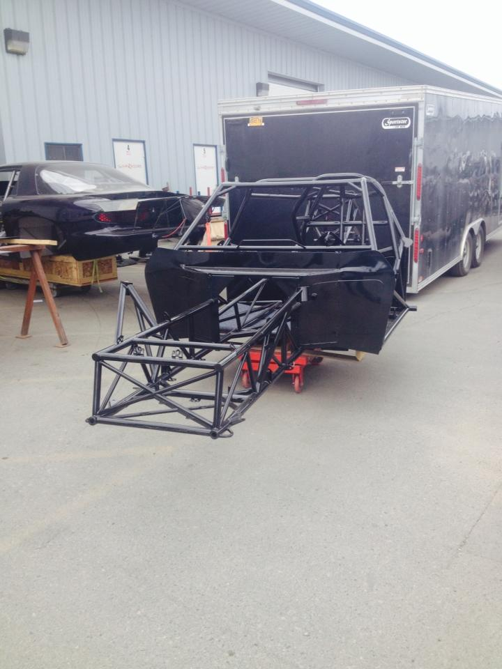 Chassis After Powder Coating
