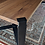 Thumbnail: Walnut Dining Table With Blackened Steel Base