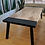 Thumbnail: Bookmatched Elm Dining Table With Steel Breadboards