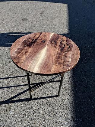 Walnut Bistro Table
