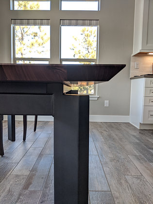 Floating Walnut Dining Table