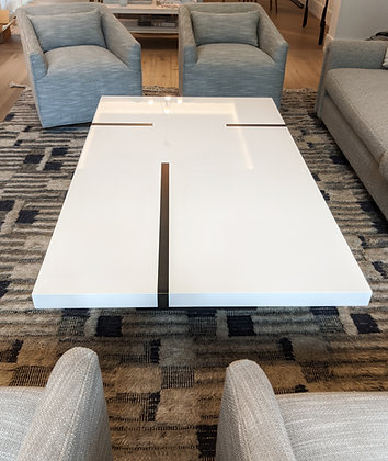 High Gloss Rectangle Coffee Table