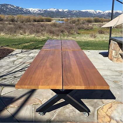 Solid Teak Outdoor Dining Tables