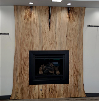 Elm Fireplace Surround