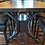 Thumbnail: Bookmatched Walnut Dining Table with Steel Accents