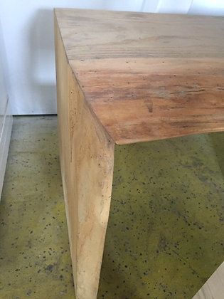 Live Edge Wooden Bench/Coffee Table
