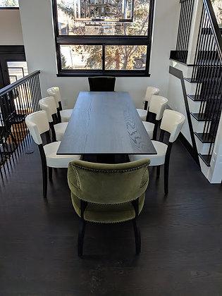 Beveled Elm Dining Table