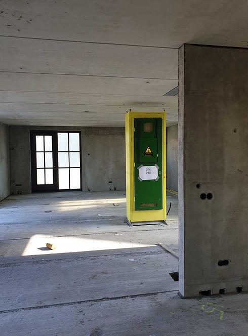 Prefab meterkast CEHEtech in nieuwbouwwoning