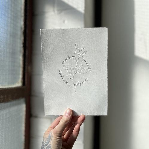 Mantra Print