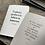 Thumbnail: Set of two - Garden Letterpress Notebooks