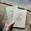 Thumbnail: Garden & Library Letterpress Notebook