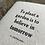 Thumbnail: Believe in Tomorrow Letterpress Notebook