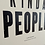 Thumbnail: Kind People Letterpress Poster