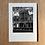 Thumbnail: Motorama Linocut print
