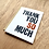 Thumbnail: Thank you SO much letterpress card