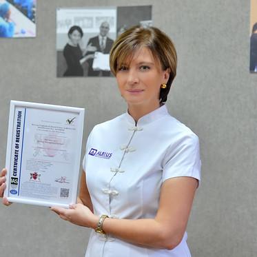 ალბიუსი ISO 9001:2015 საერთაშორისო სტანდარტის მფლობელი გახდა