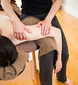 Birdwings mobile massage Stroud shoulder release