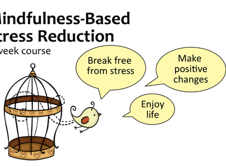 """What Mindfulness-Based Stress Reduction has done for me!"" - Part 1"