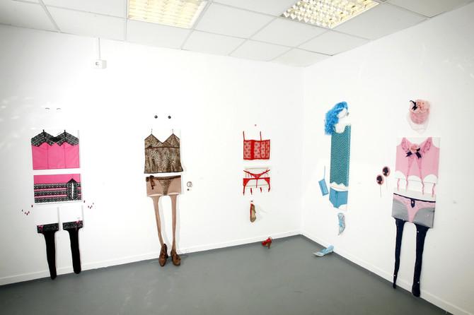 Nylon, 2009, installation, Boulevard and Brezsnyev Gallery, Budapest