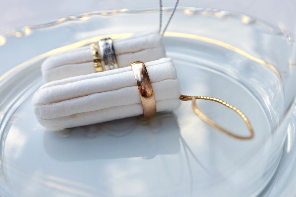 Engaged, 2019, object, tampon, ring